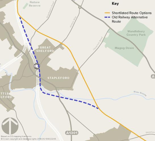 busway route options