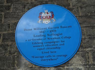 Information about blue plaque people and events | Cambridge