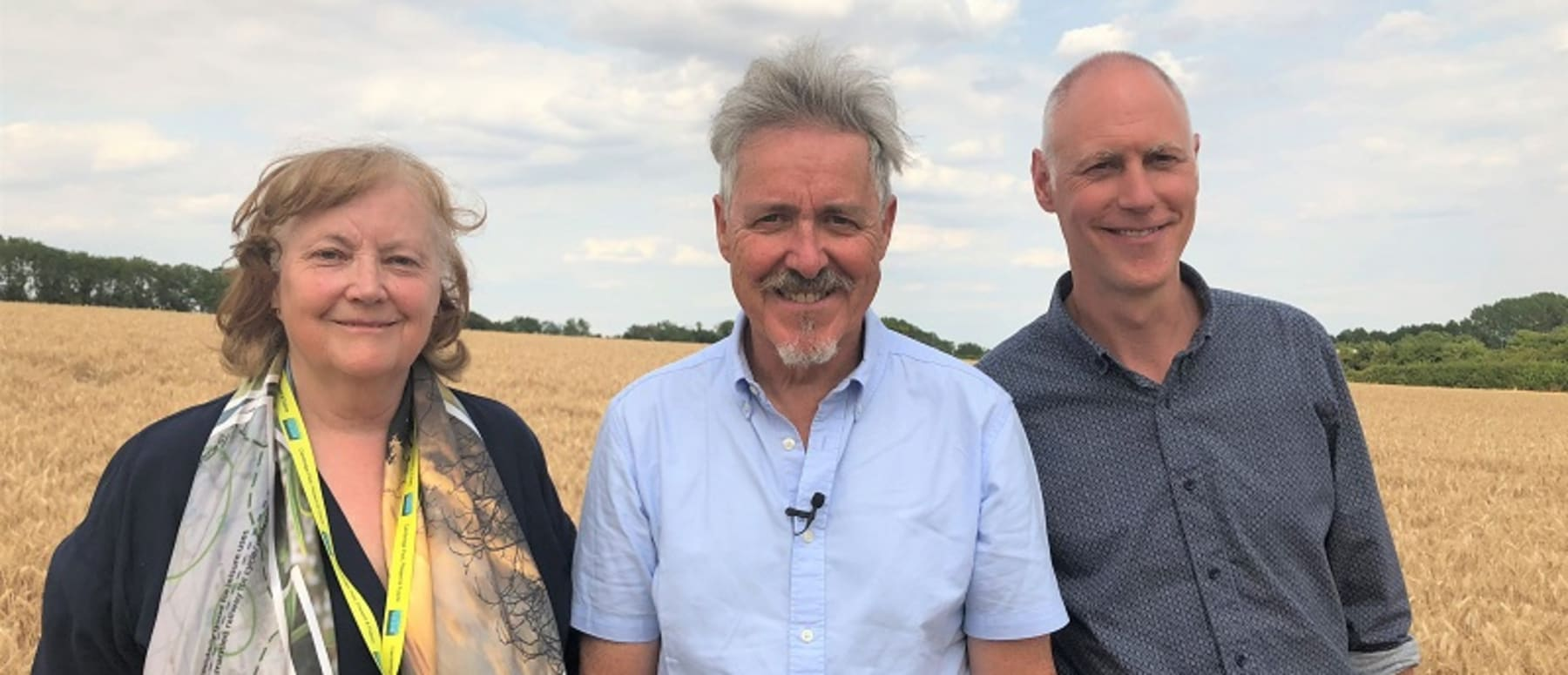 Griff Rhys-Jones supports Cambridge Past Present & Future