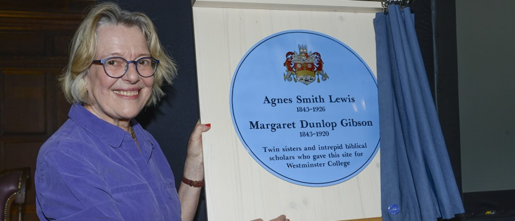 Cambridge Blue Plaque unveiled at Westminster College to Commemorate Intrepid Founding Sisters