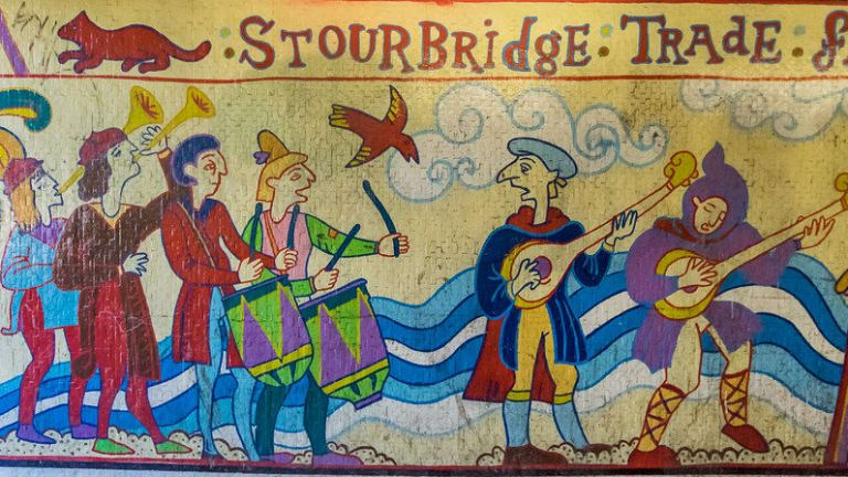 Stourbridge Fair at the Leper Chapel - a talk