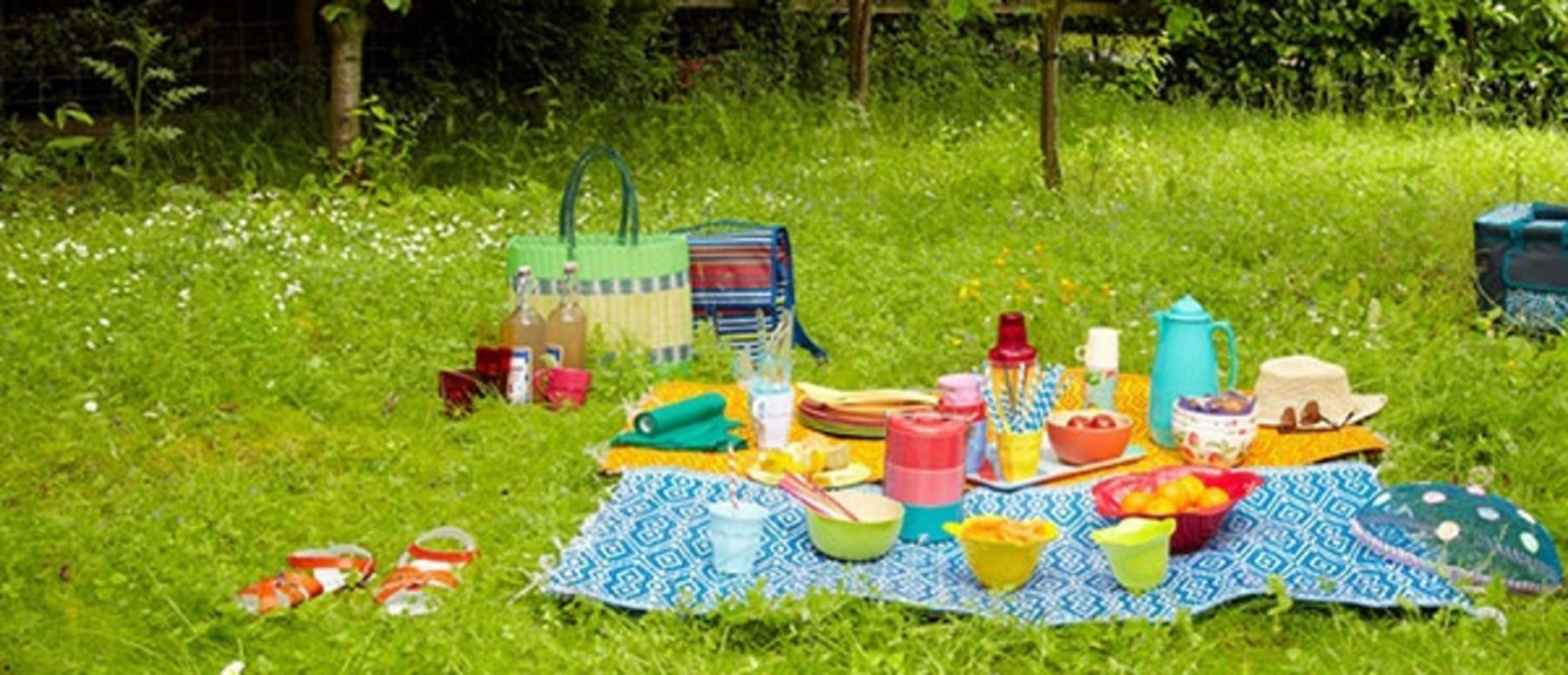 Great places for picnics